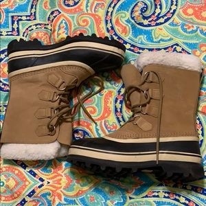 Sorel Tan all weather boots